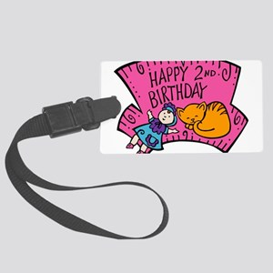 2nd-Birthday-02-[Converted] Large Luggage Tag
